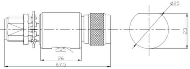 Coaxial Surge Protector<br>N Type Male to Female B/H DC to 5800MHz