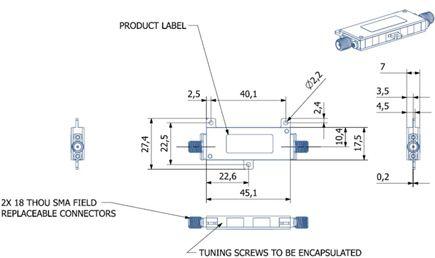 Interdigital Bandpass Filter