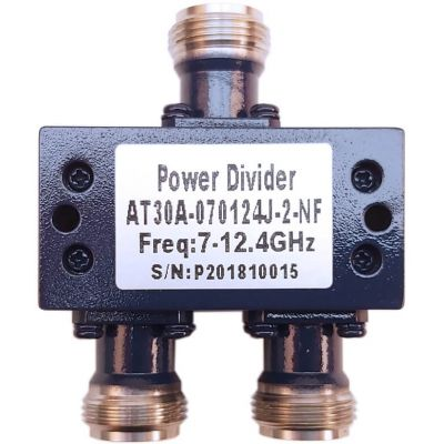 Power Divider 2 Way 7.0 to 12.4GHz N Female 30W