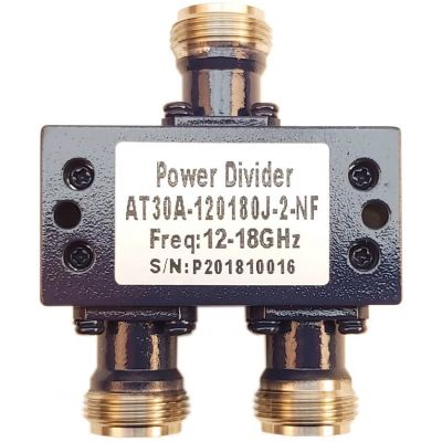 Power Divider 2 Way 12.0 to 18.0GHz N Female 30W