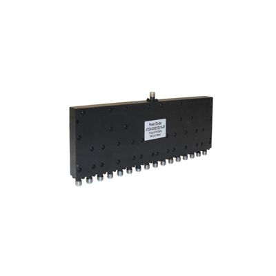 Power Divider 16 Way, SMA Type Female 20W, 8 to 12.8GHz