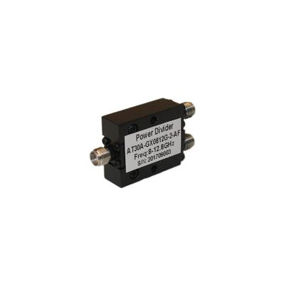 Power Divider 2 Way, SMA Type Female 20W, 8 to 12.8GHz
