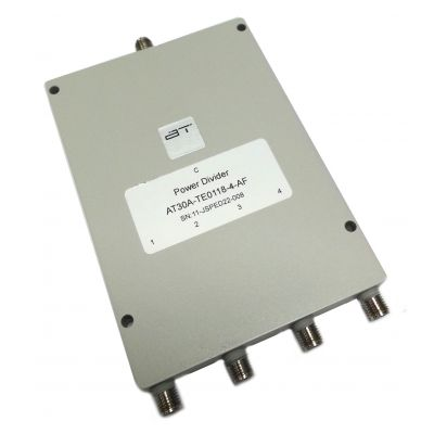 Power Divider, 4 Way, SMA Female, 1-18GHz