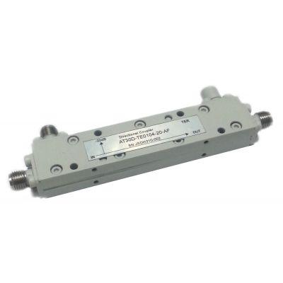 RF Coaxial Directional Coupler, 1-4GHz, 20dB, SMA F