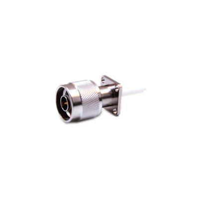 N-Type Male, 4 Hole Flange Mount, DC to 11GHz